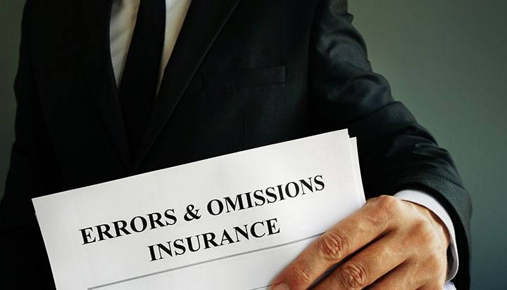 Errors and Omissions Insurance in Los Angeles, San Diego, Riverside